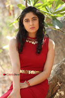 Telugu Actress Zahida Sam Latest Pos in Red Gown at RF Films New Movie Opening  0290.JPG