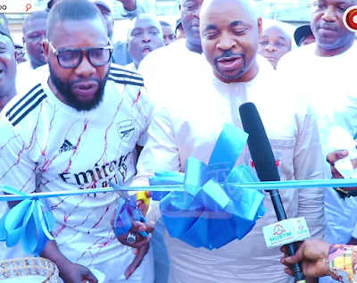 Moment MC Oluomo Opens His Deputy 500 Millionaire Hotel As He Bows For Him. (Photos)
