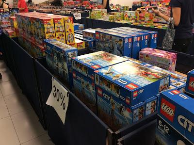 Toys R Us Malaysia LEGO Stock Clearance Sale