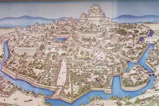 disegno della mappa del castello