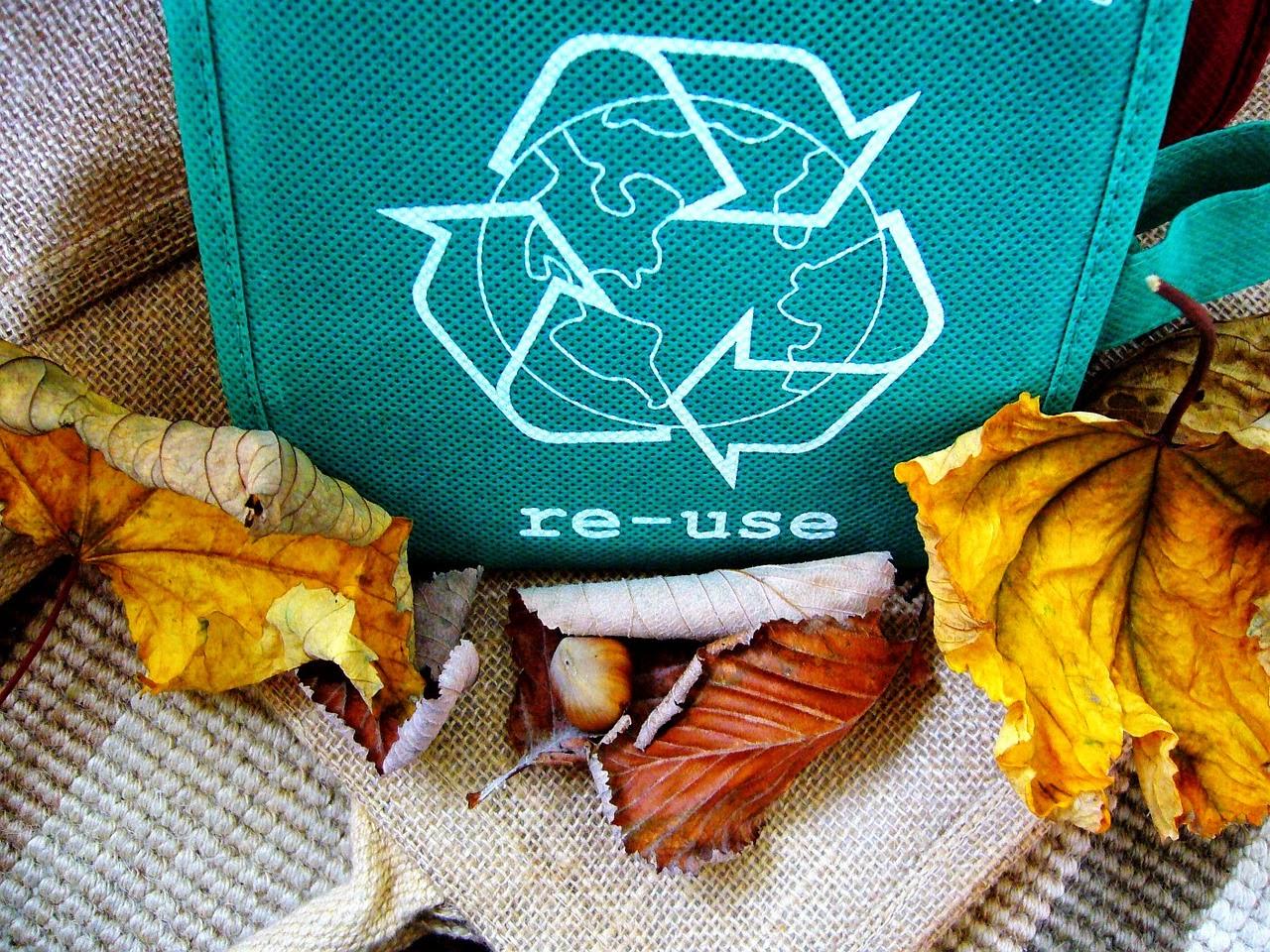 Zmniejsz śmiecia i wybierz torbę bawałnianą