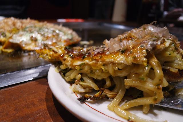 Tokyo Famous okonomiyaki akihabara