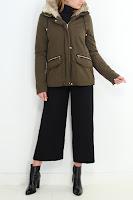 Geaca Zara Dama Alaska Design