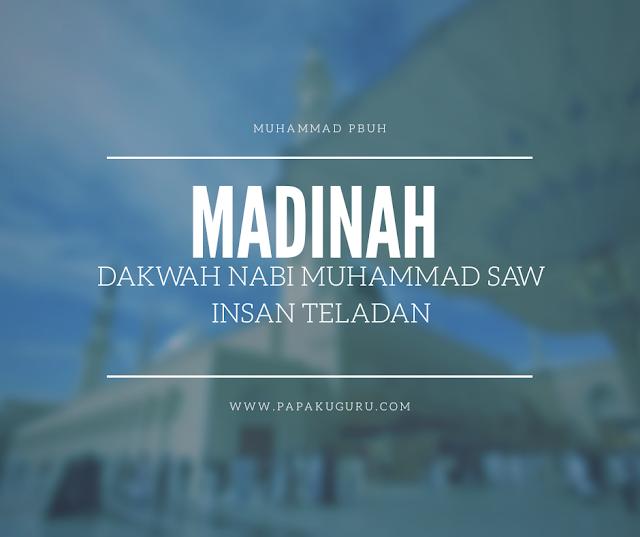 Materi PPT PAI SMA : Dakwah Nabi Periode Madinah (Download)