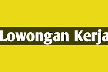 Lowongan Kerja Sebagai Admin Probolinggo - Kedopok PT Mapan Bersama Sentosa