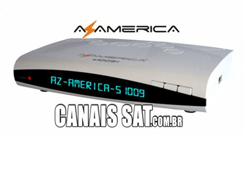 Azamerica S1009 Plus HD Atualização V1.57 - 28/03/2021