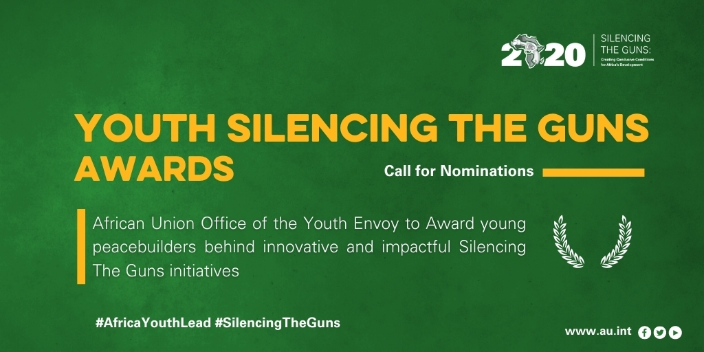 African Union Youth Silencing the Guns Awards 2020