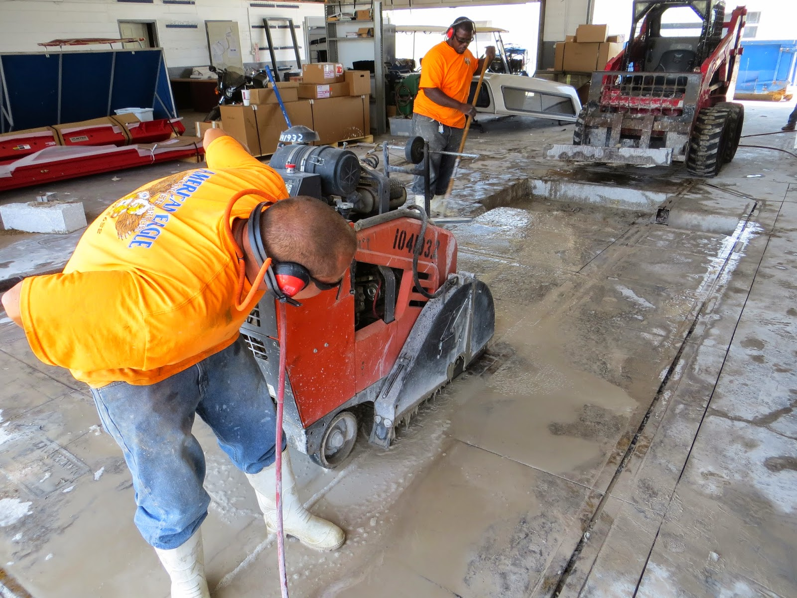 Concrete Slab Sawing, Concrete Flat Sawing Orlando FL