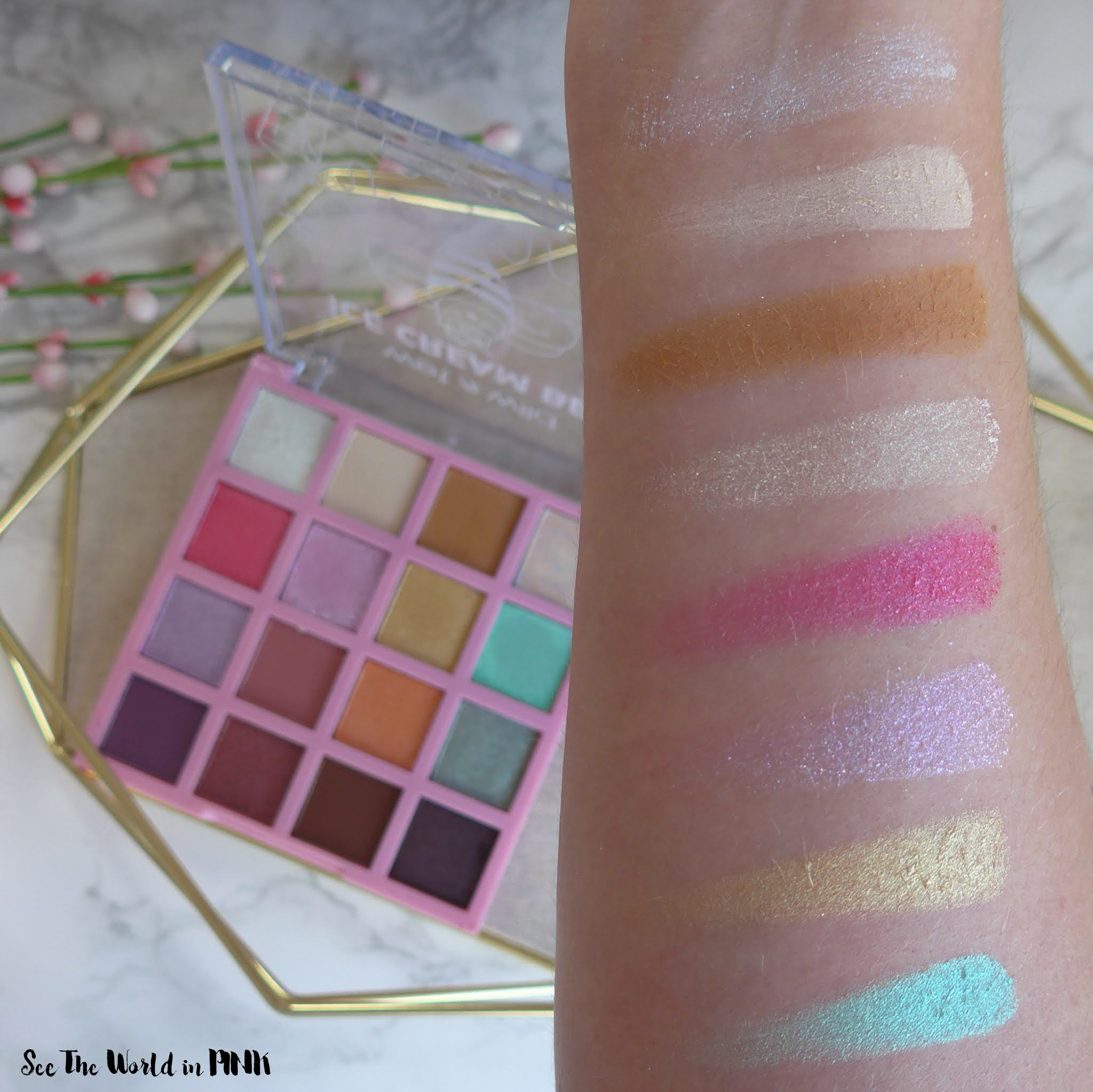 Wet N Wild Ice Cream Bee Palette