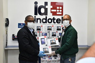 Indotel entrega equipos a Salud Pública para agilizar compilación y flujo de datos sobre Covid-19