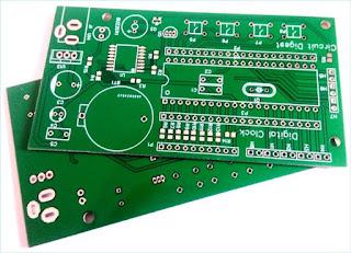 PCB DESIGN OF CLOCK