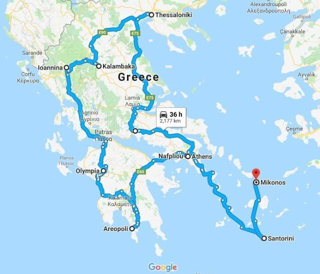 greece-Travel-guide-map