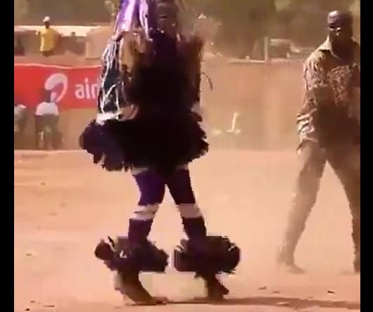 رقصة ماكينة الخياطة رقصة مضحكة