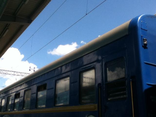 Ukraine Train, Lviv