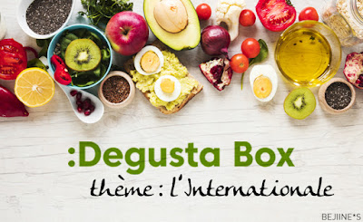 Unboxing DegustaBox de Novembre 2019 : l'Internationale