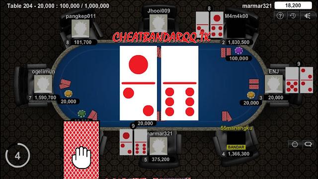 Cheat BandarQ 95% Win Menggunakan Akun Level VIP SaktiQQ !
