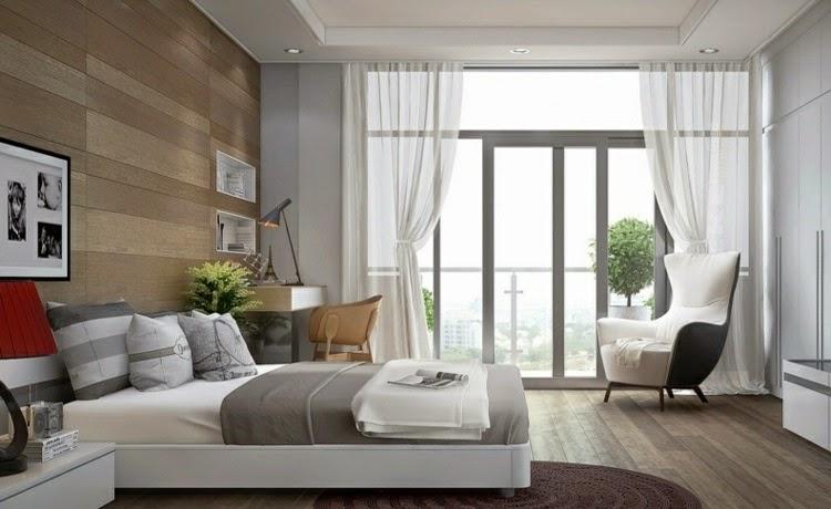 Elegante dormitorio elegante