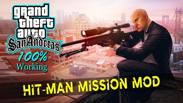 GTA San Andreas Hitman Mission Mod