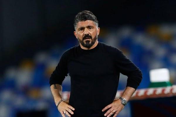 Oficial: Nápoles, no sigue el técnico Gattuso
