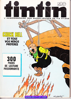 Chick Bill en couverture