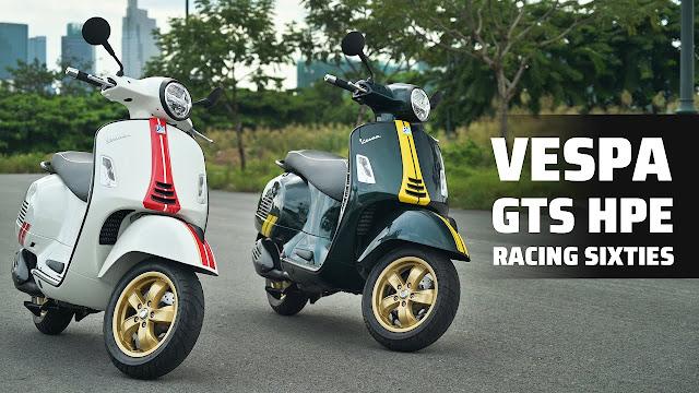 Đánh Giá Vespa GTS Racing Sixties 300 HPE