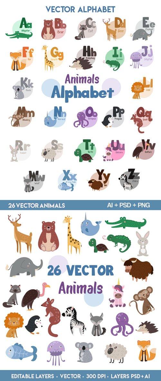 تحميل فيكتور، PSD حيوانات بجودة عالية