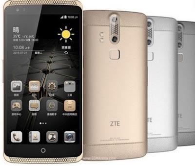 Harga HP Android ZTE Axon Lux Tahun 2016 Lengkap Dengan Spesifikasi Dua Kamera Belakang 13 MP dan 2MP