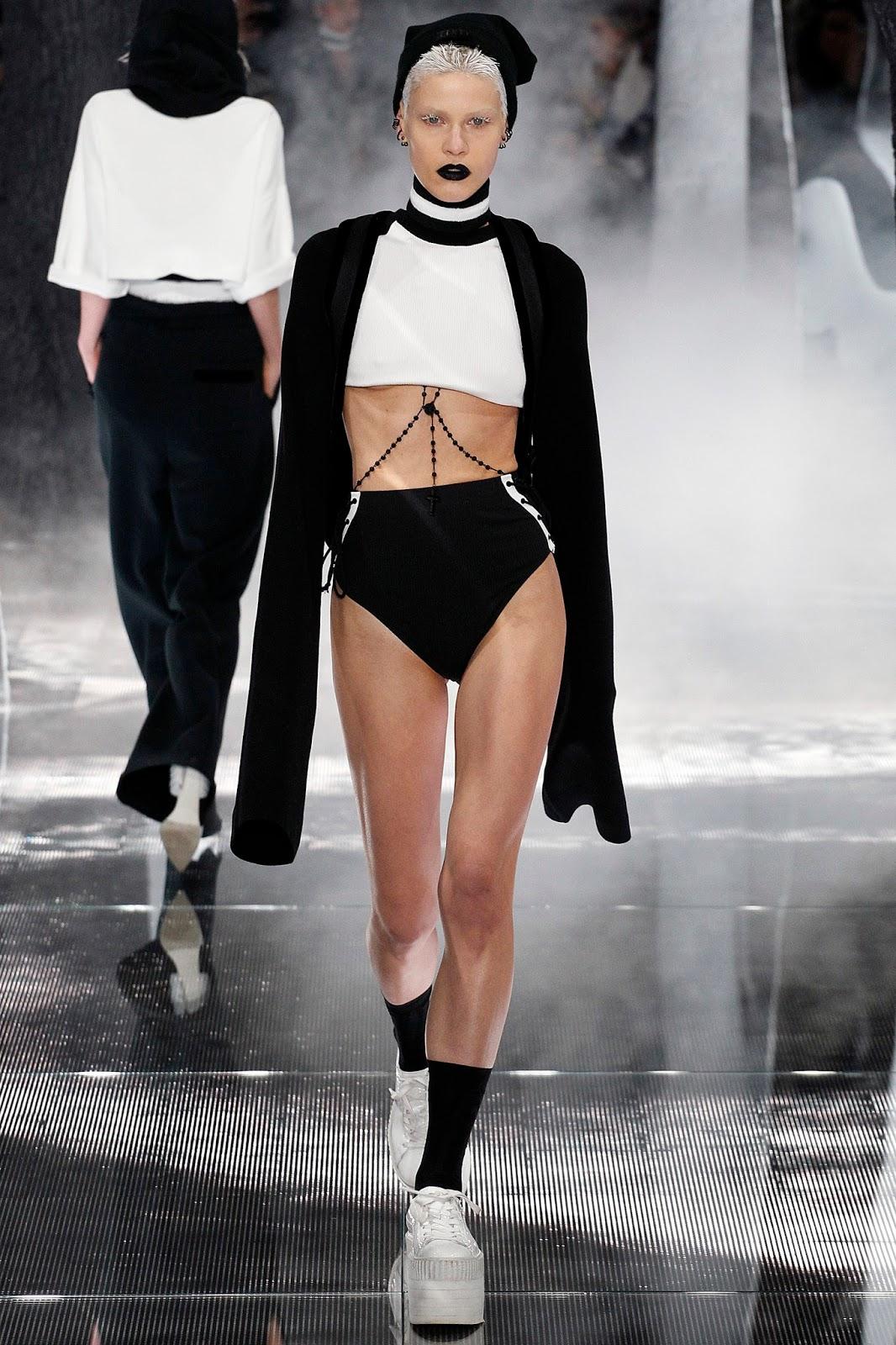 Rihanna, NYFW, fall, winter, puma, fenty x puma, collection, trend, news, gothic, Culture & Trend Magazine,