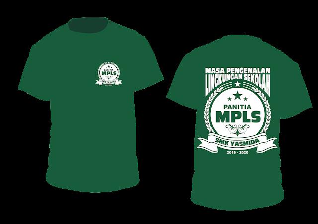 Design Kaos Panitia MPLS SMK Yasmida Ambarawa 2019