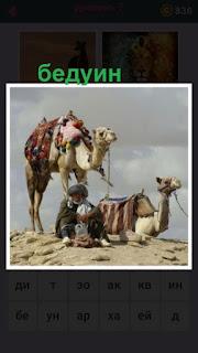 655 слов стоят два верблюда и рядом сидит бедуин 7 уровень