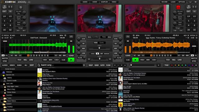 Screenshot PCDJ DEX 3.13.0.6 Full Version