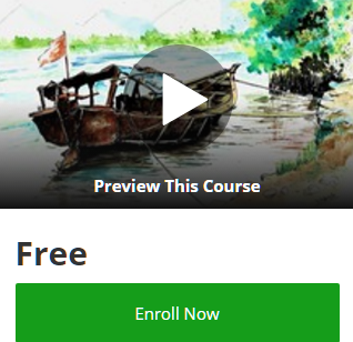 udemy-coupon-codes-100-off-free-online-courses-promo-code-discounts-2017-draw-a-boat-in-water-using-pens-inks-and-watercolors