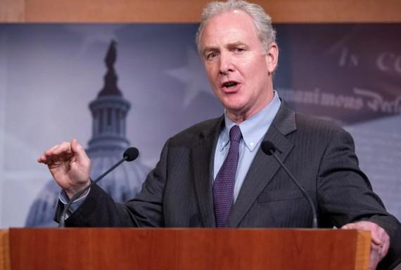 Senator Chris Van Hollen. (Image: Bloomberg)