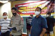 Polda Sulut Gelar Press Realise Terkait Penangkapan DPO Kasus Narkoba