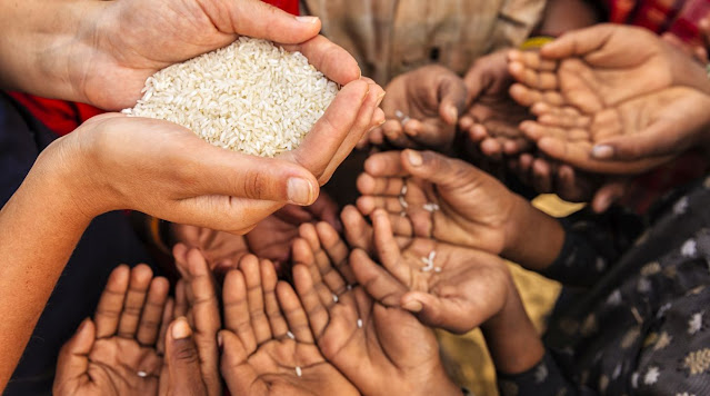 The world on the brink of starvation and poverty due to Corona