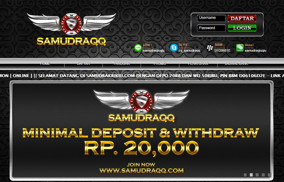 Samudraqq adalah Agen Domino Terpercaya Dan Terbesar Di Asia