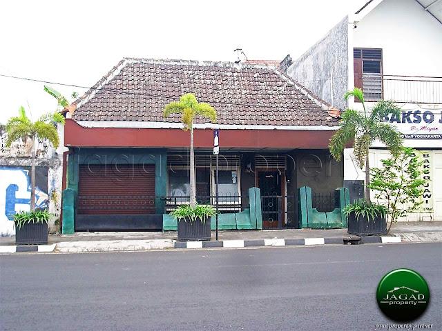 Rumah Tepi Jalan dekat Malioboro