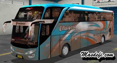 livery bussid shd efisiensi kotor