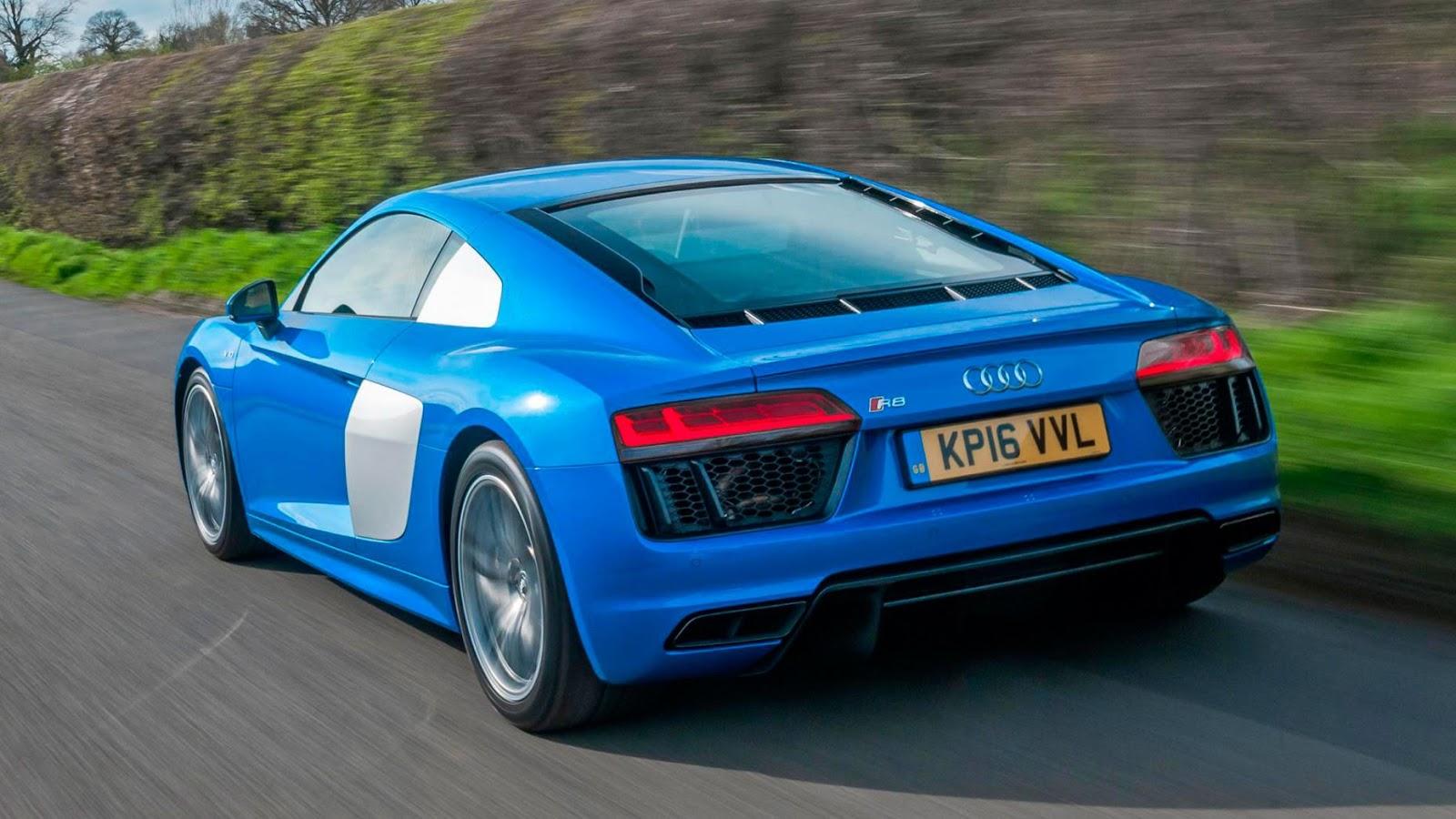 Audi R8 V10: £ 117.715