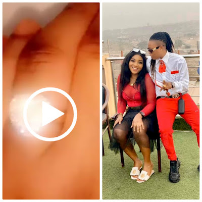 Amazing Moment; Nigerian lady proposes to her girlfriend in Edo State