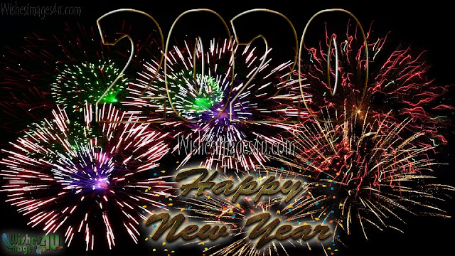 New Year 2020 Fireworks HD Images Download Free For Desktop