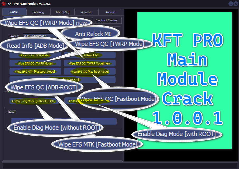 KFT Pro Tool V1.0 & V1.0.0.1 Crack Free For All Users instant activation