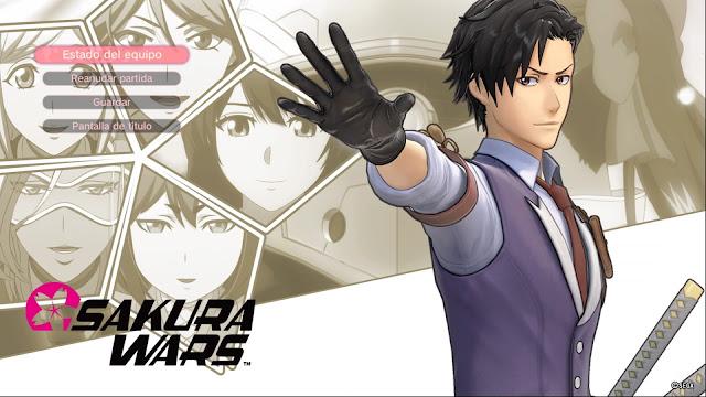 Sakura Wars Capítulo Final Cediendo el Testigo Seijuro Anastasai Azami Hatsuho Claris