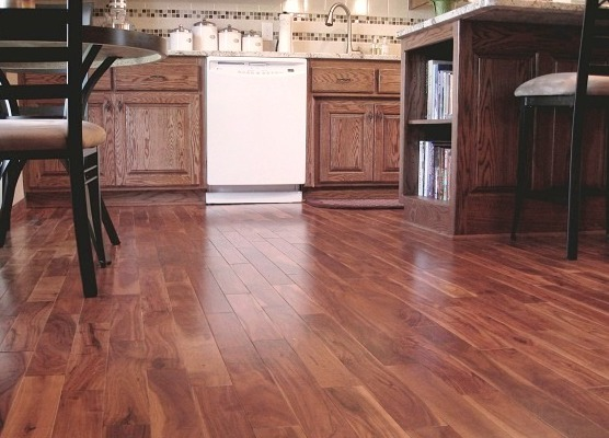 Acacia Kitchen Wood Flooring