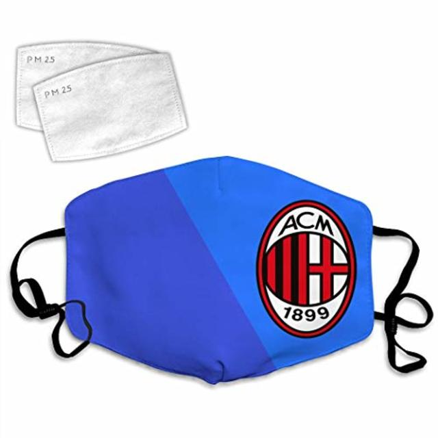 AC Milan Face Mask Blue