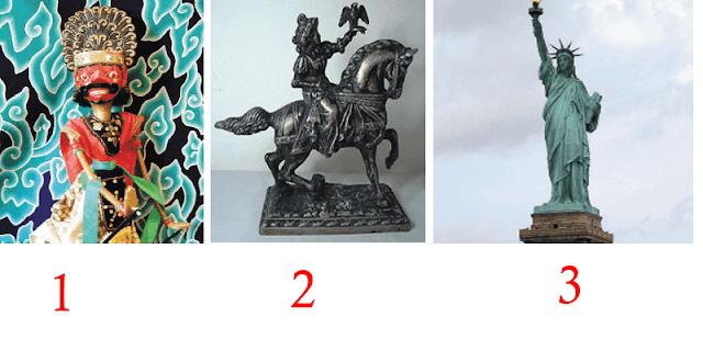 Apresiasi, Jenis, Simbol, Nilai Seni Rupa 3 Tiga Dimensi