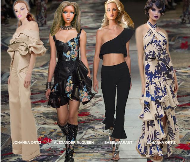 Beach Blanket Cha Cha Dance: Fashion Doll Stylist