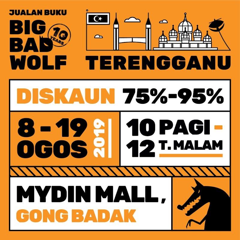 Big Bad Wolf Kini Di Mydin Mall Gong Badak, Terengganu