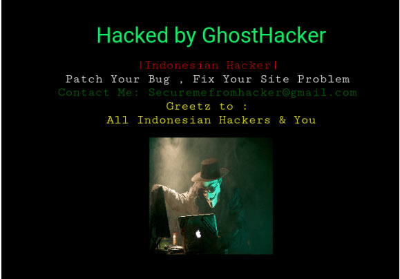 Screenshots: UNILORIN website hacked. See who hacked it