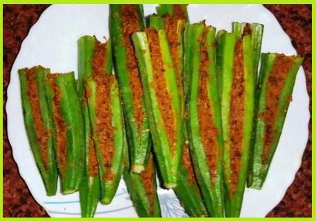 भरवा भिंडी की सब्जी बनाने की विधि - Bharwa Bhindi Recipe in Hindi